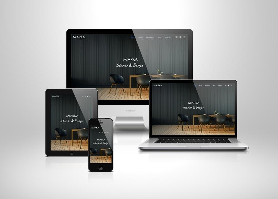 Strona internetowa w wersji responsywnej